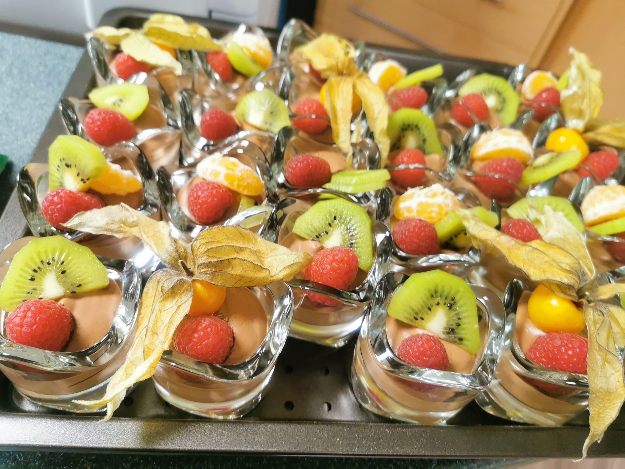 Buffet Dessert mousse au chocolat